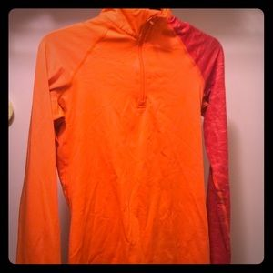 Bright Orange Nike jacket